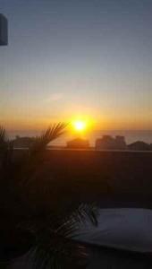 Solnedgångarna i Nazaré är magiska
