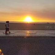Solnedgången kan se ut så här...