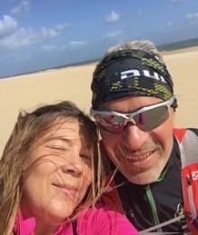Vi hälsar er välkomna till Nazaré 2018. Maria & Torbjörn