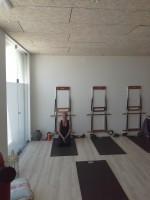 På plats i Pilates studion