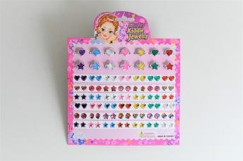 Stickers örhängen med ringar - Stickers örhängen med ringar