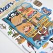 Piratklistermärken med samlarbok