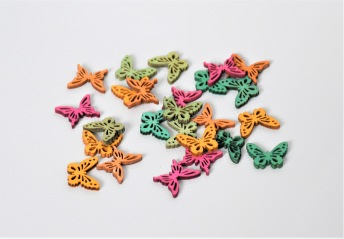 Dekorations fjärilar i trä - Dekorations fjärilar i trä