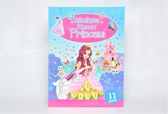 Pretty Princess Målarbok - Pretty Princess Målarbok