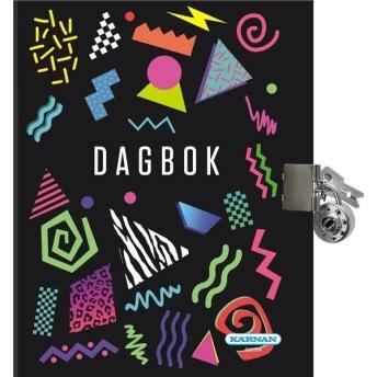 Dagbok med lås - Dagbok med lås