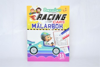Racing Cars Målarbok - Racing Cars Målarbok