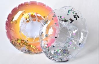 Uppblåsbar Dryckhållare - Uppblåsbar Dryckhållare - Multi/ Transparent
