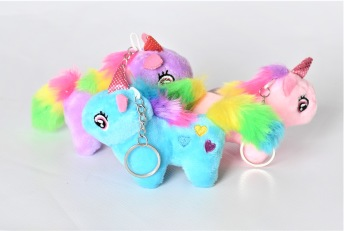 Unicorn Nyckelring - Unicorn Nyckelring Blå