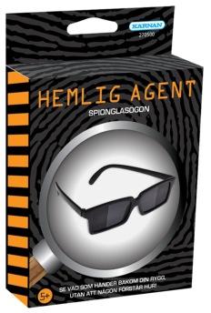 Hemlig Agent - Spionglasögon - Hemlig Agent - Spionglasögon