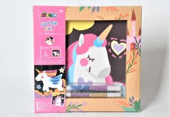 Glitter art - Unicorn - Glitter art - Unicorn
