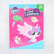 My little Pony pysselbok med klistermärken - Rosa
