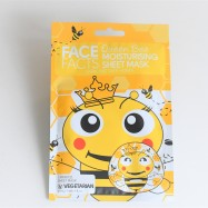 Face Facts Queen Bee Moisturizing Printed Sheet- Ansiktsmask 20ml
