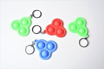 Bubbel - Nyckelring - Bubbel - Nyckelring Blå