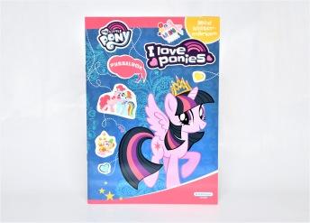 My little Pony pysselbok med klistermärken - Blå - My little Pony pysselbok med klistermärken - Blå