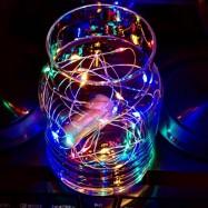 Ljusslinga Multifärgad