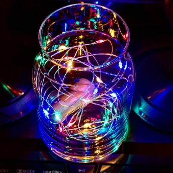 Ljusslinga Multifärgad - Ljusslinga Multifärgad