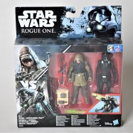 STAR WARS Rogue One - Imperial Death Trooper and Rebel Commando Pao
