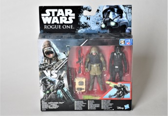 STAR WARS Rogue One - Imperial Death Trooper and Rebel Commando Pao - STAR WARS Rogue One - Imperial Death Trooper and Rebel Commando Pao