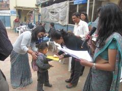 Stipendieutdelning. Foto: Biva