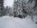 Byvägen i vinterskrud