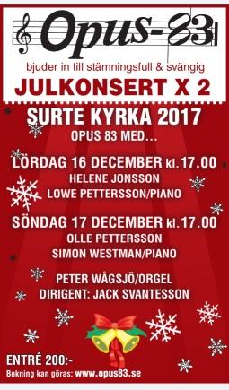 Julkonsert 2017