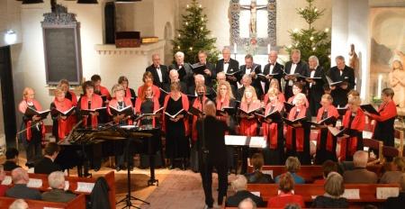 Julkonsert i Surte kyrka 15 dec 2012