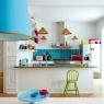 Färgklick i köket