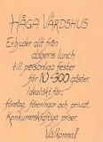 Affisch Håga