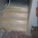 Ny trappa till ateljén