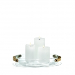 Holmegaard: Design with light. Ljusfat 27 cm