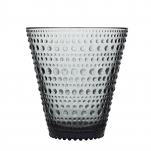 Iittala Kastehelmi glas, grå 2/fp