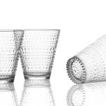 Iittala. Kastehelmi glas, klar 2/fp