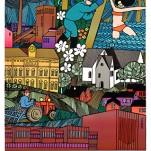 Poster; Piteå 350 år, 50*70 cm