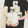 Hing-handgjorda doftljus