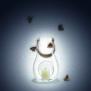 Holmegaard ljuslykta