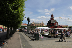 Torglördag i Lidköping