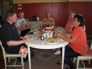 gemensam middag för halva gänget på fredagen