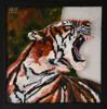 """0032""""Tiger 1"""" Oljemålning med ram 30x30 cm Pris 1490:-"""