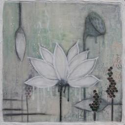 Lotus 3, (38x38cm), SOLD