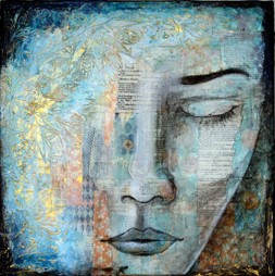 """Peace Within"", 30x30cm, 12""x12"", SOLD"