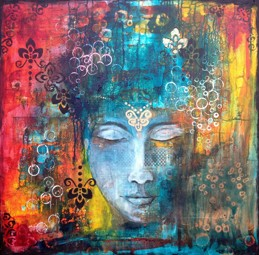 """Amazing You"", 75x75cm (30""x30""), SOLD"