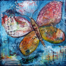 """Transform"", 60cm x 60cm, 24""x24"", SOLD"