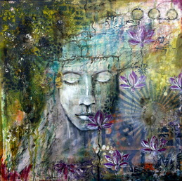 """Be Brave"" 60cmx60cm, 24""x24"" SOLD"