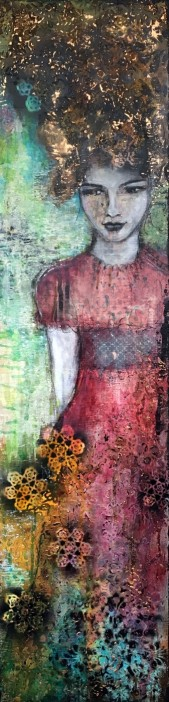"""""""In Symbiosis with Nature"""", 120cm x 30cm, 48""""x12"""", SOLD"""