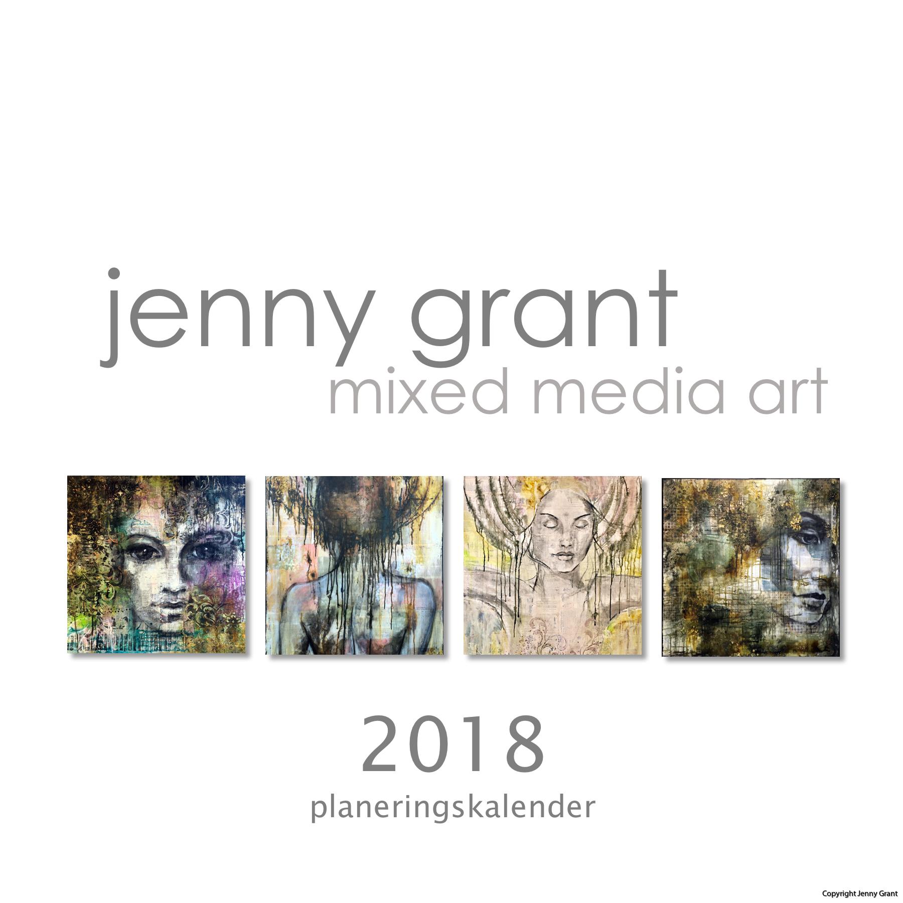 FlowbyJenny Calendar 2018