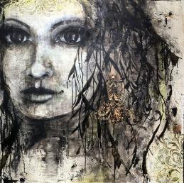 """""""Self Compassion"""", 100x100 cm"""