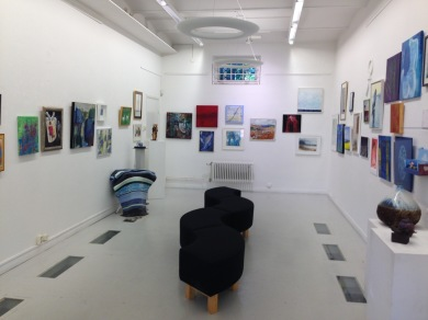 Joint Exhibition of all the 64 artists.