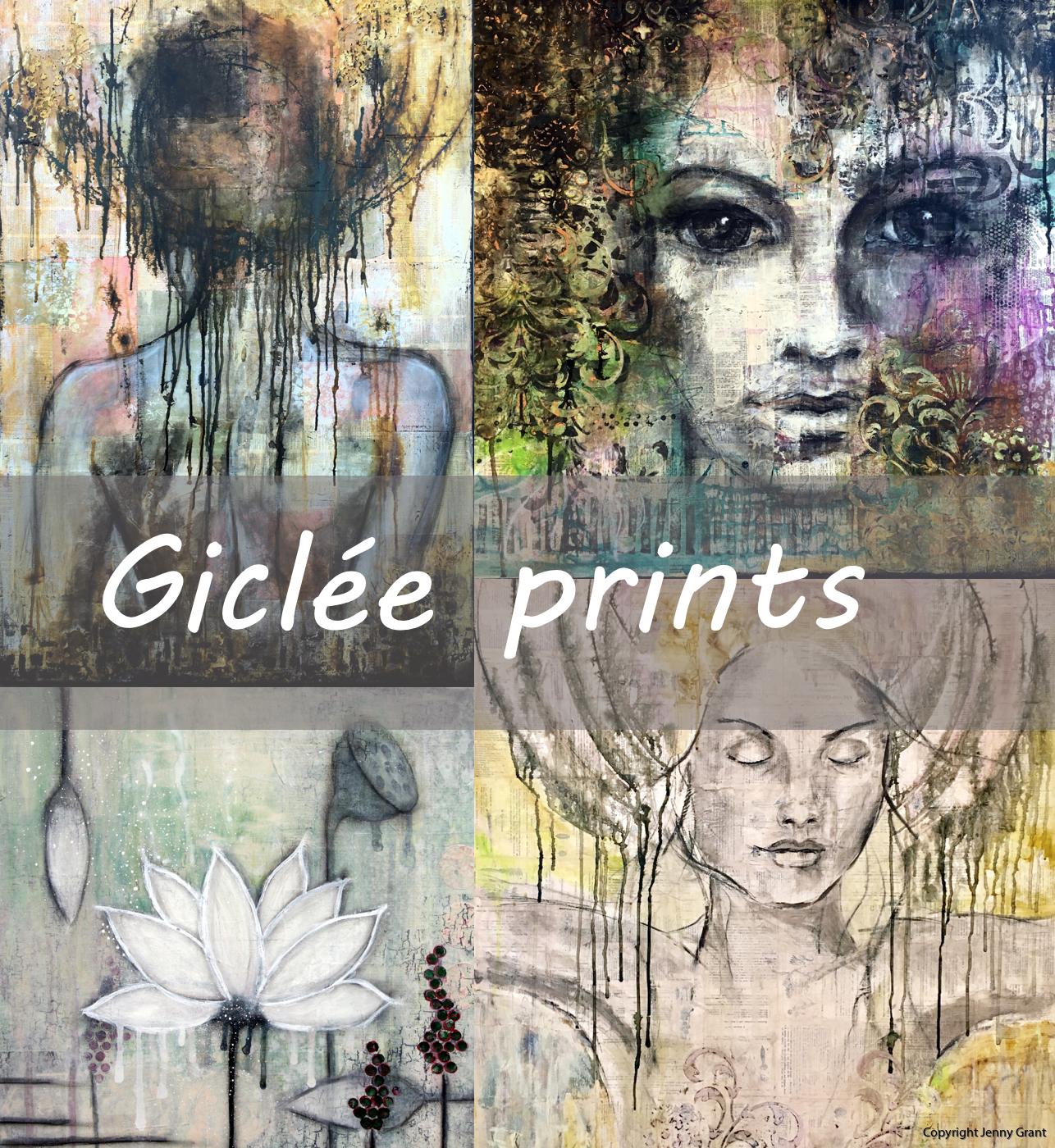 Giclée prints Jenny Grant