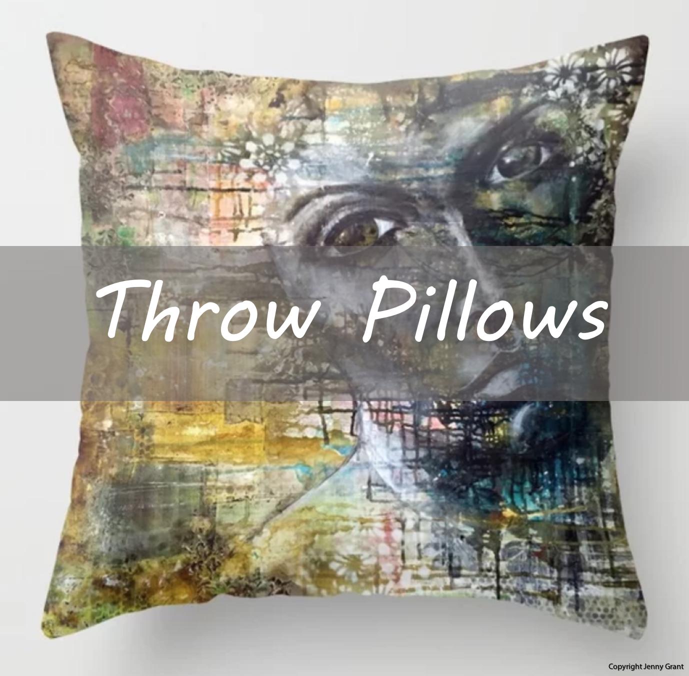 Throw Pillows Jenny Grant