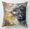 Throw pillow - I am who I am, 45x45cm